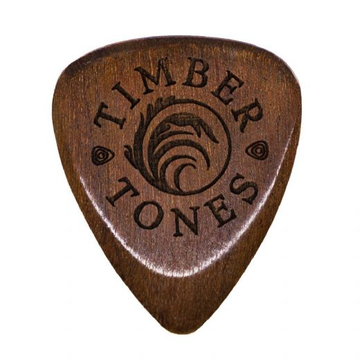 Timber Tones Grip Indian Chestnut 1 Guitar Pick